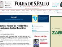 O Bruxo na Folha de São Paulo
