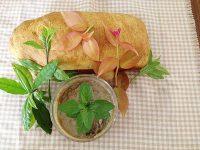 Pão de Oro-pro-nobis e Geleia de Banana com Erva-santa-maria e Hortelã
